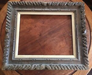 Vintage Wood Craved Picture Frame Fits Pictures 14 X18 Paintings Projects
