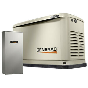 Generac 7033 Guardian Series 11 10kw A c Standby Generator 200 Amp Ts hsb