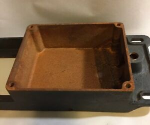 Maytag Model 82 Fuel Gas Tank Gas Engine Motor Hit And Miss Original Antique