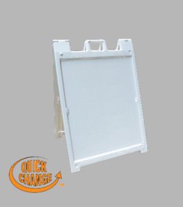 8 5 X 10 5 Sign Portable Molded Frame