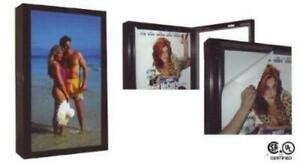 Durabrite Outdoor Lighted Sign Cabinet 2 sided