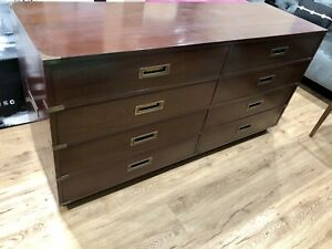 Outstanding Mid Century Hollywood Regency Campaign Dresser