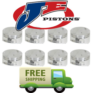 Je Pistons 170879 460 Inverted Dome Pistons 4 390 Bore Big Block Ford 520