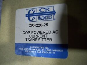 New Cr Magnetics Cr4220 25 Loop Powered Ac Current Transducer