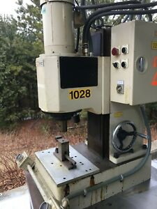 Vsi Automation Hydraulic Rivet Press Model Tm20 In Good Working Condition