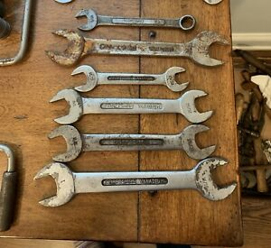 Lot 19 Craftsman Underline C Long C Circle Open End Wrenches 1 2 Sockets Old