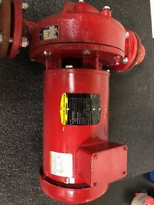 Bell Gossett Circulating Pump E90 Series Inline Pump 60 Gpm 1 5 Hp 208 460 V
