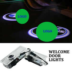 2pcs Led Car Door Light Logo Courtesy Projector Laser Ghost Shadow Light For Bmw