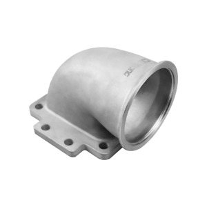 Cxracing 3 5 Vband T6 Turbo Stainless Steel 90 Degree Elbow Adapter Flange