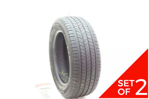 Set Of 2 Used P 235 55r17 Michelin Energy Saver A S 99h 7 32