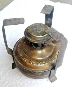 Stove India Vintage Portable Kerosene Brass Old Antique Cooking Fire Pit Wick