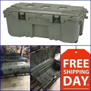 Xxl Pickup Truck Trunk Bed Storage Tool Box Garage Trailer Chest Heavy Duty Camo