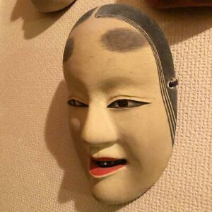 Wood Carving Noh Face Facet