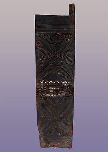 Old African Large Igbo Door From Nigeria 65 H X 17 W X 1 D