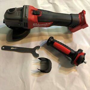 Milwaukee 2781 20 18 Volt Fuel Brushless 4 1 2 5 Cordless Angle Grinder New