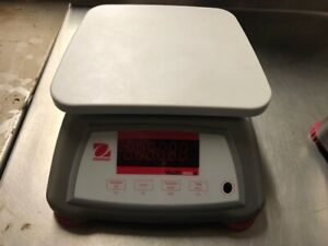 Ohaus Valor 2000w Compact V22xw Series Bench Scale 6 Lb Capacity Used No Cord