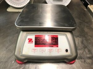 Ohaus Valor 2000w Compact V22xw Series Bench Scale 6 Lb Capacity No Cord