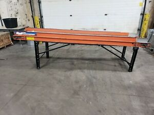 Emi 11 X 24 Cleated Belt Conveyor 3 Phase 20ge