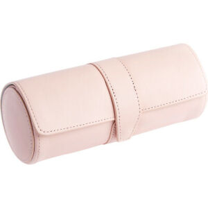 Royce Leather Deluxe Watch Roll Carnation Pink Business Accessorie New
