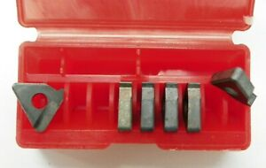 6 Pieces Of Vardex Ye3 2p Carbide Inserts F011