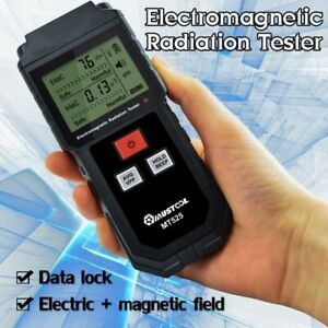 Electromagnetic Field Radiation Tester Emf Detector Lcd Meter Handheld Counter