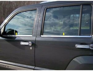 Ws48070 Window Sill Accent Fits 2008 2012 Jeep Liberty 4dr Suv