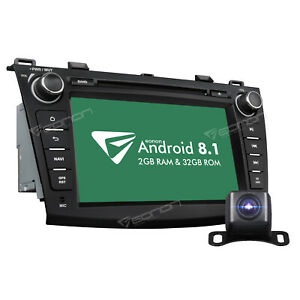 Us For Mazda 3 10 13 Android 8 1 Car Dvd Gps Radio Navi Stereo Head Unit Cam B