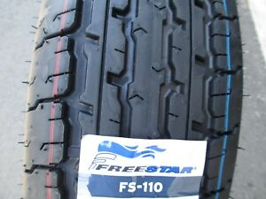 2 New St 205 75r15 Freestar Fs110 Radial Trailer Tires 8 Ply 2057515 75 15 R15 D