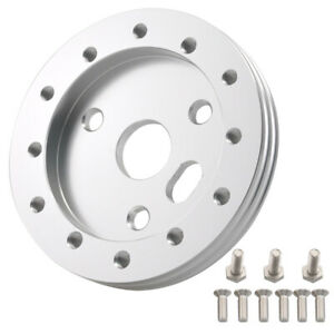 Silver 0 5 Steering Wheel Hub Adapter Spacer 6 Hole To Fit For Grant Apc 3 Hole