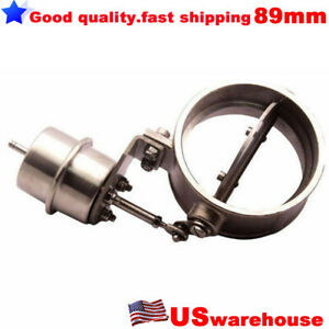 89mm 3 5 Boost Activated Exhaust Cutout Dump Open Style Pressure About 1 Bar