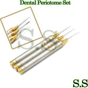 Dental Flex Periotome Extraction Screw Kit Periodontal Implant 3 Pcs Dn 2148