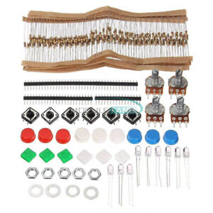 For Arduino Component Led Switch Potentiometer Electronic Parts Diy Kit Pack
