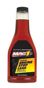 New Mag 1 182 Premium Engine Stop Leak Treatment 14 Oz Single Pack