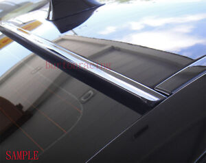 Painted Black Fit 2002 2003 2004 2005 2006 Toyota Camry rear Window Roof Spoiler