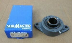 Nib Sealmaster Sft 24 Sft24 Flange Mount Ball Bearing 2bolt 1 1 2 Bore 2 Aval