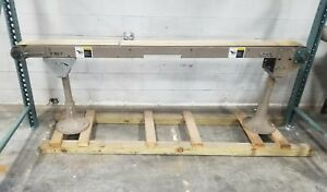 Smooth Flat Belt Conveyor 8 X 8 3849sr
