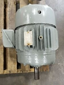 Ge 15 Hp 5k254bn205a Electric Motor 1755 Rpm 3 Phase 3209sr