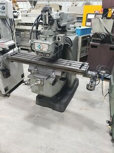 Millport Vertical Milling Machine 3hp 3 Phase 230 480 10 x50 Table Power Feed