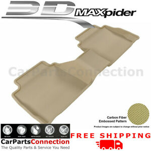 All Weather Floor Mats L1fr06021502 For Ford Fusion 2013 2018 Kagu Tan Maxpider