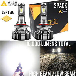 Alla Lighting Super Bright Led 9005 White Hd Light Bulb Direct Replacement Lamp