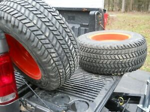 2 Goodyear Xtra Traction 29x12 50 15 Tires On Rims 4 Ply