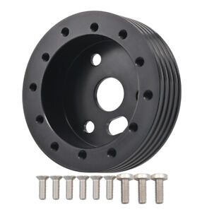 1 Extension Hub Spacer Adapter Plate For Grant 6holes To 3holes Steering Wheel