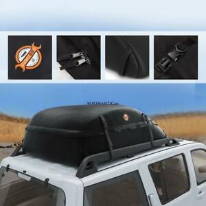Car Vehicles Waterproof Roof Top Cargo Carrier Luggage Travel Storage Be0r