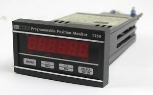 Incon Programmable Position Monitor 1250