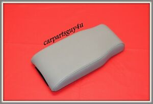 06 13 Chevy Impala 06 09 Buick Lacrosse Center Console Lid Armrest Grey Leather