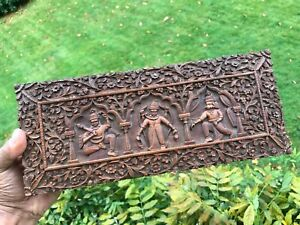 Antique Anglo Indian Carved Sandalwood Box Superb Condition 1890 Good Perfume