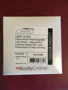 Acuity Nlight Sensor Switch Lsxr 10 Adc