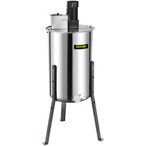 Honey Extractor Large 3 6 Frame Stainless Steel Electric Beekeeping Tool 120w