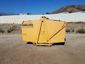 Camlever Tb400 4 Yd Bucket Includes Lifting Sling Gd Condition