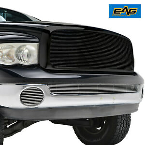Black Replacement Grille For 02 05 Dodge Ram 1500 03 05 Dodge Ram 2500 3500